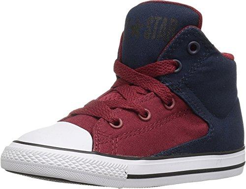 Converse Infant Chuck Taylor All Star High Street Hi Fashion Sneaker - Obsidian/Red/Blue - Boys - 8 -