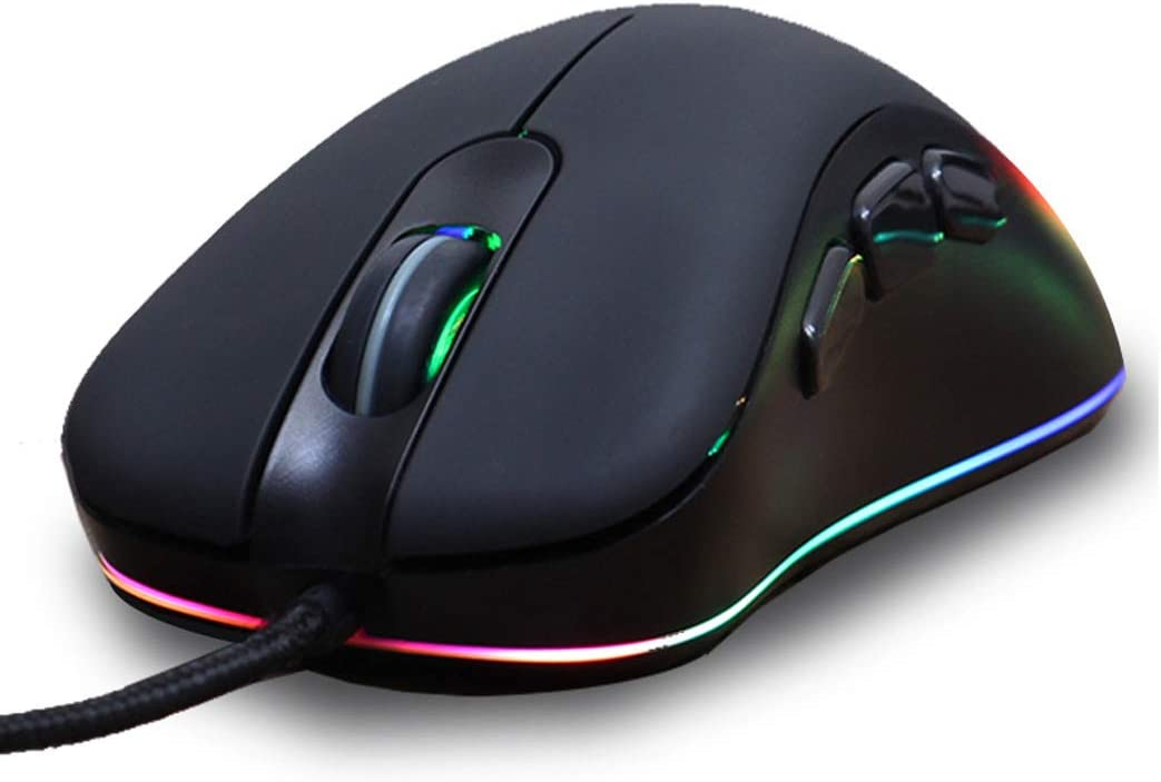Windows Macs Plug and Play for Laptops HHRONG Ergonomic High Performance Gaming Mouse High Precision Etc. Pcs