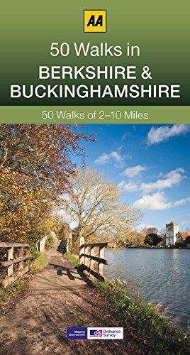 50 Walks in Berkshire & Buckinghamshire