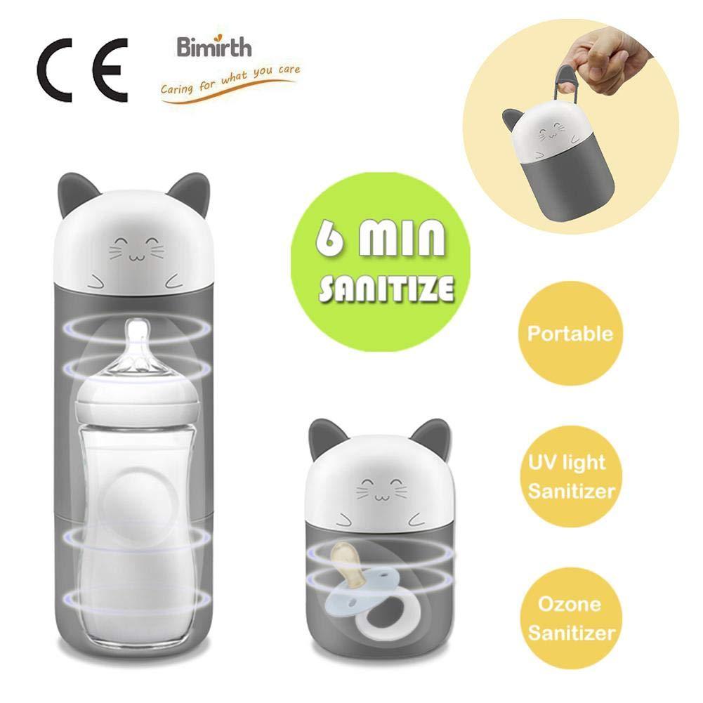 Per Stérilisateurs buveurs et sucettes pour bébés Stérilisateur électronique portable pour enfants Machine de nettoyage à ozone pour bouteilles UV