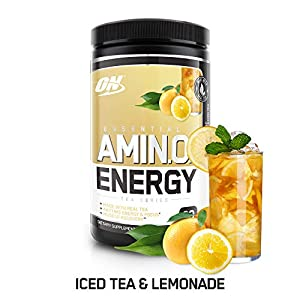 Optimum Nutrition Amino Energy – Pre Workout with Green Tea, BCAA, Amino Acids, Keto Friendly, Green Coffee Extract…