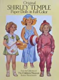 Original SHIRLEY TEMPLE PAPER DOLLS BOOK (UNCUT) in Full COLOR w 4 Card Stock DOLLS & FASHIONS From The CHILDREN'S MUSEUM COLLECTION (1988 Dover)