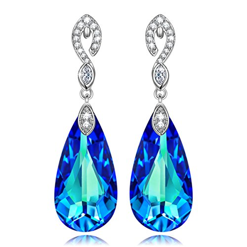 Earrings Swarovski Crystals Jewelry Gifts for Women Girls Her KATE LYNN