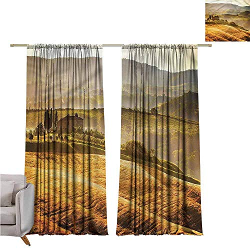 zojihouse Tuscan for Bedroom Curtains for Living Room 62