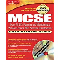 MCSE Planning and Maintaining a Microsoft Windows Server 2003 Network Infrastructure (Exam 70-293): Guide & DVD Training System: Study Guide and DVD .Net Study Guide & DVD Training Systems