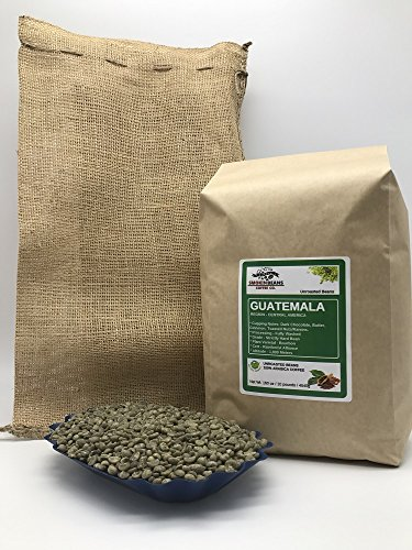 Guatemala Antigua Green Coffee - 10 Pounds - Central American - Guatemala - Unroasted Green Coffee Beans - Grown in San Marcos Region - Altitude 1800 Meters - Drying/Milling Process Washed - Finca Nueva Granada