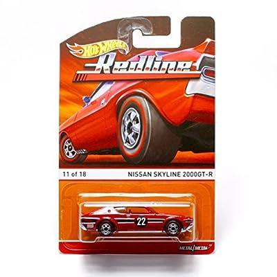 Hot Wheels Nissan Skyline 2000GT-R (11 of 18) Redlines / Heritage Series 2015 1:64 Scale Die-Cast Vehicle: Toys & Games