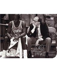 lowest price cffd6 6f9c2 Autographed Pearl Washington Photo - 8x10 +COA SYRACUSE LEGEND+COACH  BOEHEIM - Autographed NBA Photos