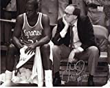 Autographed Pearl Washington Photo - 8x10 +COA SYRACUSE LEGEND+COACH BOEHEIM - Autographed NBA Photos