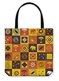 Gear New Shoulder Tote Hand Bag, African, 18x18, 822205GN