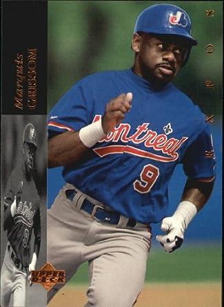 9d75e84872d Amazon.com  1994 Upper Deck Baseball Card  390 Marquis Grissom   Collectibles   Fine Art