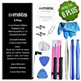 IMILITIS Compatible Replacement Battery for iPhone 6 Plus 3.82v 2915 mAh Li-ion Polymer Battery Replacement Kits with All Repair Tools, Adhesive and Instruction (12-Month Warranty)