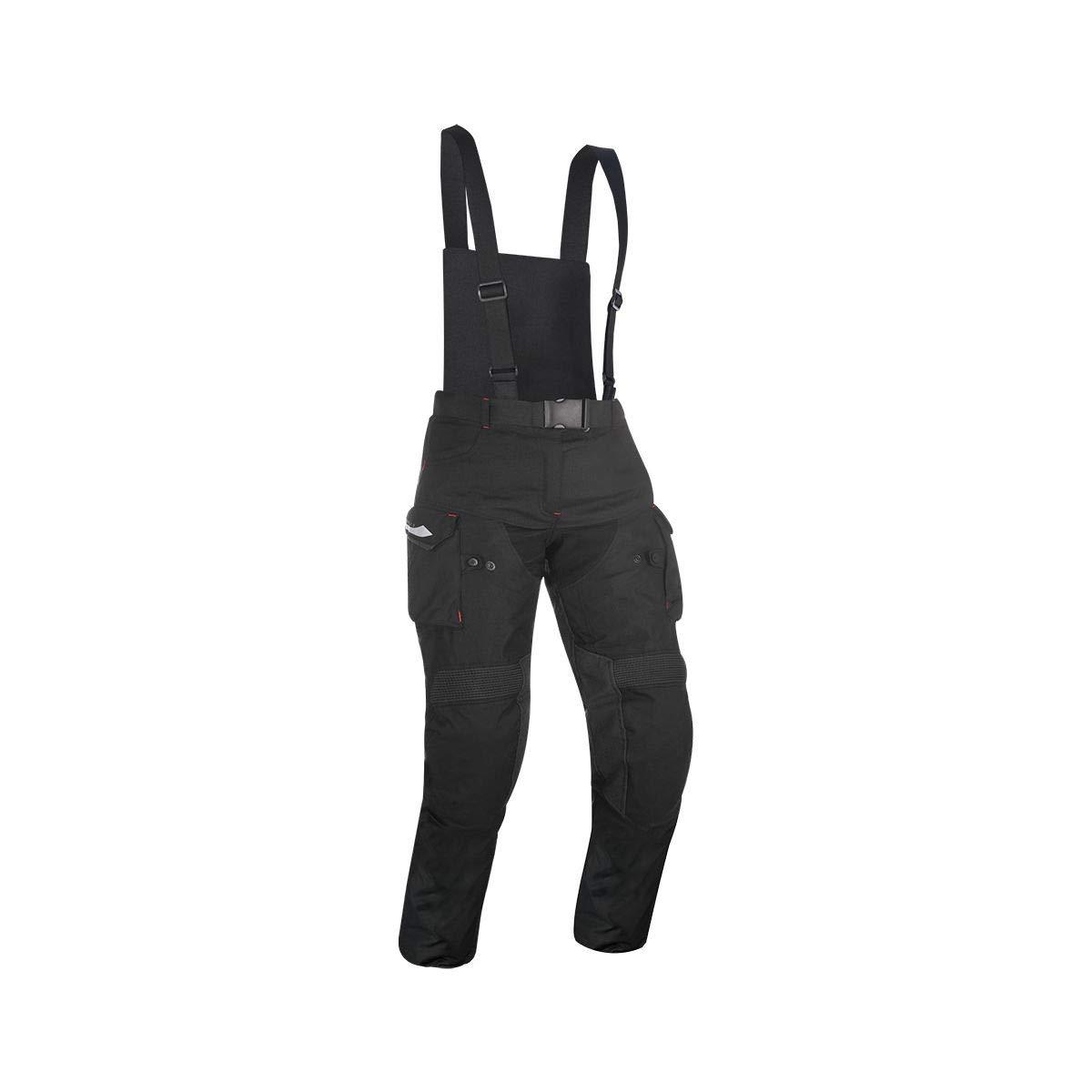 Talla XL Color Negro Oxford TM186201RXL Montreal 3.0 Pantal/ón de Moto
