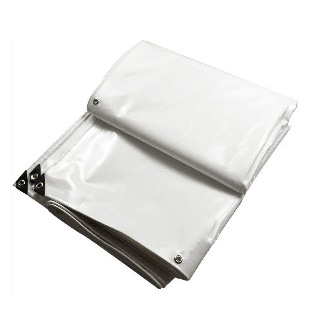 防水性と防雨性ホワイトキャンバス日焼け止め耐磨耗性PVC耐性、厚さ0.5mm(3x4m) (色 : Blanco, サイズ さいず : 3x5m) 3x5m Blanco B07K4B6C95
