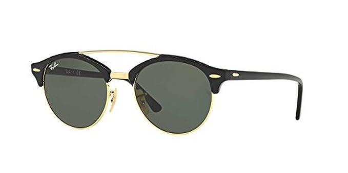 a48cc45f5997e Amazon.com  Ray-Ban RB4346 Sunglasses Black Green 51mm   Cleaning ...