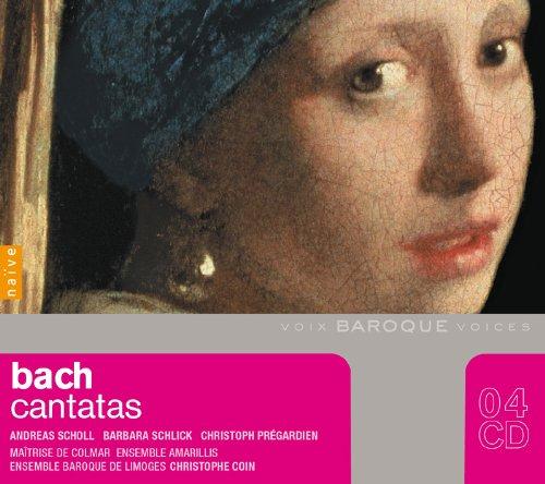 (B. Schlick/ A. Scholl/ Ensemble Baroque De Limoges/ + Kantaten-Baroque Voices Box Sacred Cantata)