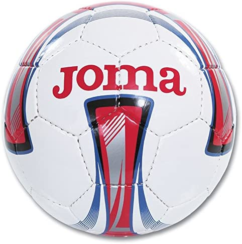 JOMA-BALON FUTBOL NIÑO-BLANCO-ROJO-TALLA 3: Amazon.es: Deportes y ...