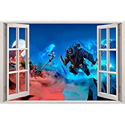 Trollhunters 3D Window Decal Wall Sticker Home Decor Art Mural Kids J636, Regular