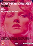 Rainer Werner Fassbinder Volume 1 (Lola/ Martha/ Why Does Herr R Run Amok?/ I Don't Just Want You To Love Me) [DVD] [Reino Unido]