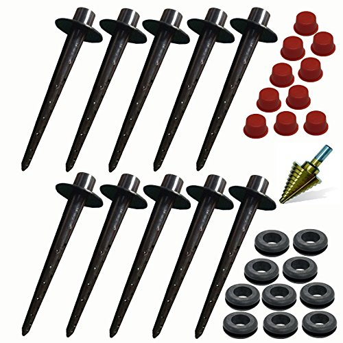 - Tree I.V. Root Seeker | Do It Yourself Package | 10-pk w/Drill Bit and Bucket Plugs