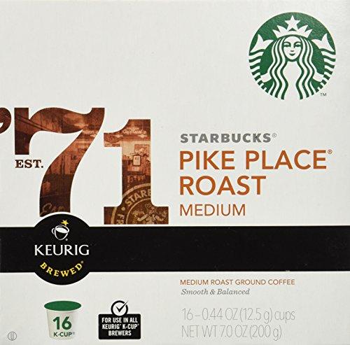 Starbucks Pike's Place Kcups-Medium Roast, 0.44 oz, 16 - Place International Market