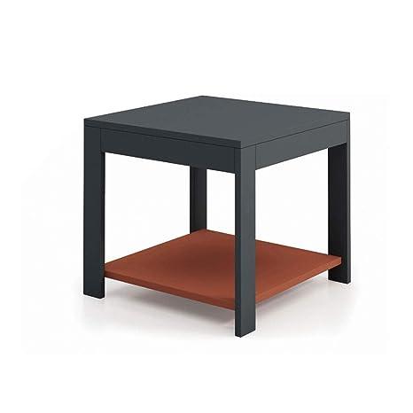 Amazon.com: Mesa de café contemporánea, mesa de café ...