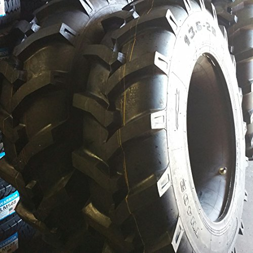 (2-Tires) 15.5-38 12 PLY R1 Rear Backhoe Industrial Tractor TIRES+TUBES 15.5x38