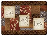 CounterArt Spice of Life Hardboard Placemat, Set of 2