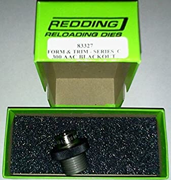 e12eb10ea41 83327 300 AAC Blackout Form   Trim Die by Redding Reloading Equipment   Amazon.co.uk  Sports   Outdoors