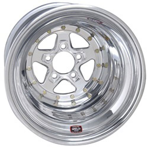Weld Racing Aluma Star 2.0 (Series 788) Polished Aluminum - 15 X 3.5 Inch (Sport Muscle Wheels)