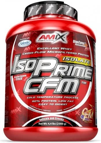 Amix Isoprime Cfm Isolate 2 Kg Cacahuete-Choco-Caramelo 2 ...