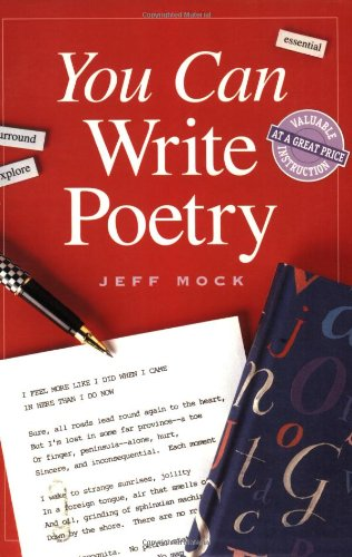 You Can Write Poetry (You Can Write It!)