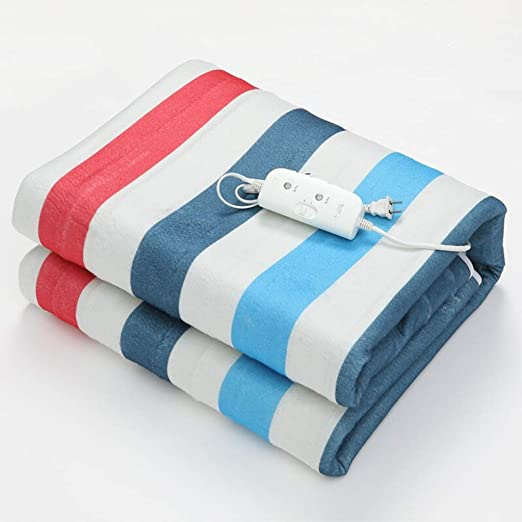 Electric blanket Manta eléctrica sobredimensionada Doble Control ...