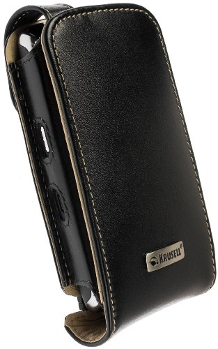 Krusell Orbit Flex Multidapt Leather Case with Ratchet Swivel Clip for BlackBerry Storm 9500/9530 - -