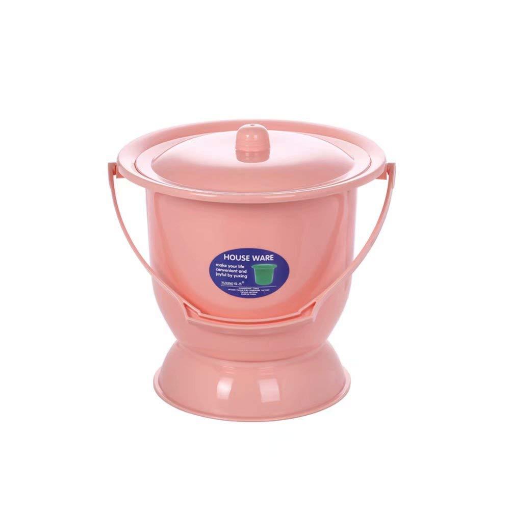 seaux /à Urine pour Femme Pots /à Urine Toilettes Mobiles urinoirs crachoir Adultes avec couvercles Femmes Enceintes Enfants Pots Plastiques