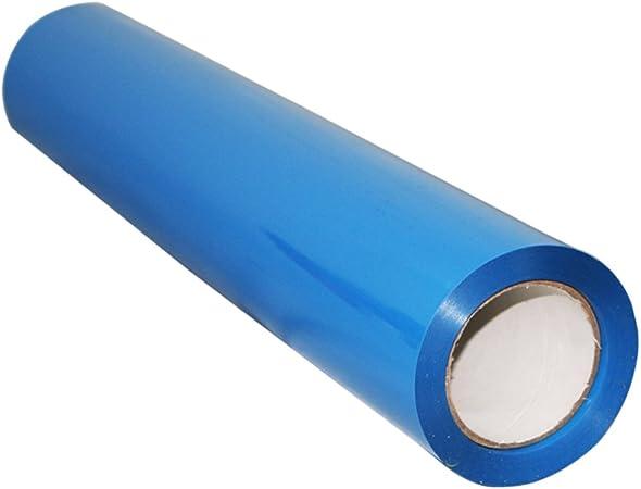 Bleu Healifty Transfert de chaleur vinyle rouleau chaud peel htv pu brillant vinyle film pour t-shirts repasser sur les v/êtements de sport autres v/êtements tissus