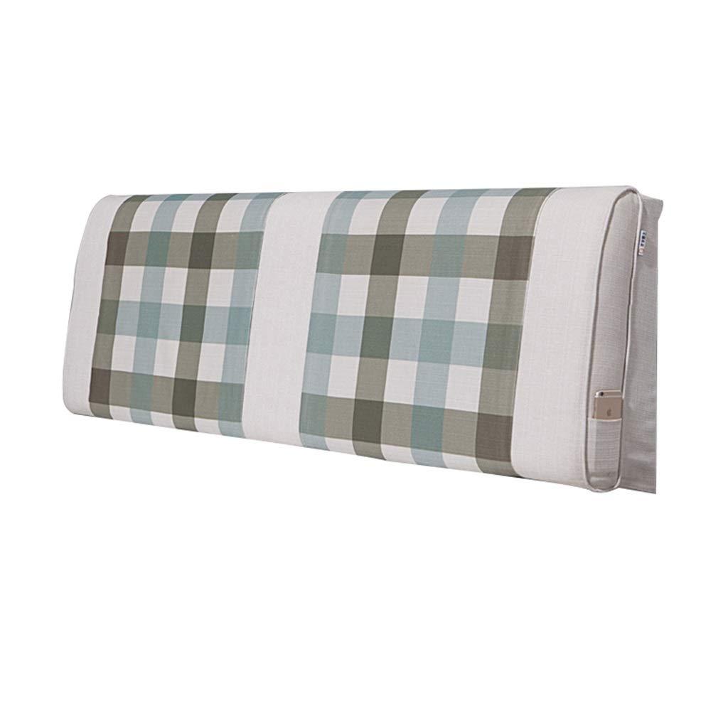 ヘッドボードクッションクッション背もたれ腰部枕取り外し可能と洗える4サイズ、12色を選択できます (Color : 9, Size : 200x60cm) 200x60cm 9 B07SNQMHDM
