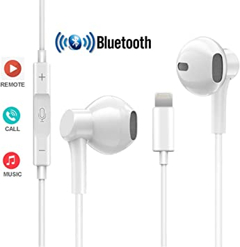 Amazon Com Coyaho Bluetooth Headphones Compatible With Iphone 7 8 X Stereo Earphones With Microphone Volume Control