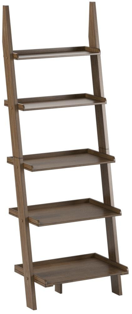 Convenience Concepts 8043391DFTW American Heritage Bookshelf Ladder, Driftwood