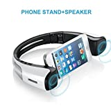 Portable Bluetooth Speakers with Smartphone Stand for Gifts
