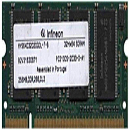 200 256mb Ddr Pin Sdram - Infineon HYS64D32020GDL-7-B 256 MB SO-DIMM Memory Module - DDR SDRAM - 200-Pin PC-2100 - 266 MHz consumer electronics Electronics
