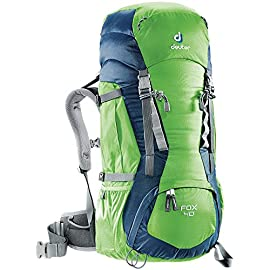 Deuter Fox 40 Kid's Hiking Backpack, Spring/Midnight