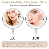 Cheftick Double Sided 1X & 10X Magnifying Makeup