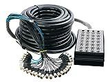 In Line Audio 24 Channel Audio Snake, 100 Feet