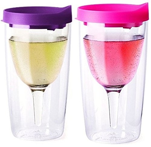 Vino2Go Double Acrylic Tumbler Purple product image