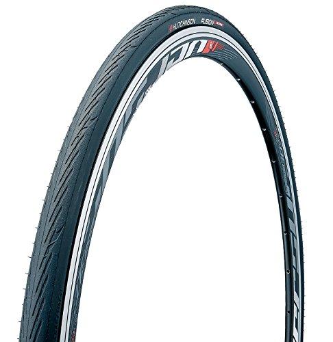 (Hutchinson Fusion 5 All Season Tubeless Road Tire 700C X 23 BLACK)