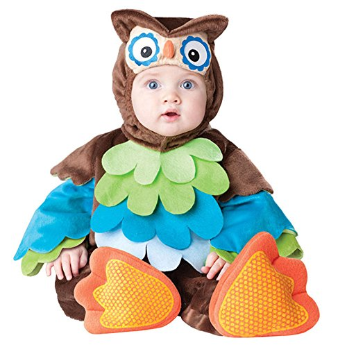 Baby's Owl Costume Boys Girls Clothes Sets Warm Toddler Rompers Dress (Medium(12-18 Months)) (Woody Halloween Costume 2t)