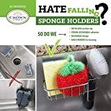 Strong Sponge Holder, Brush Caddy and Dish Cloth