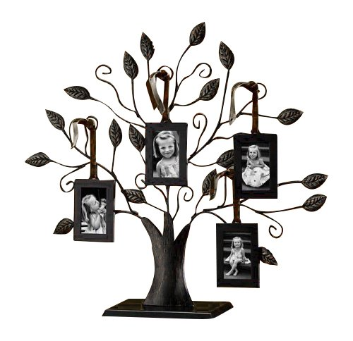 Klikel Bronze Family Tree of Life Centerpiece Display Stand