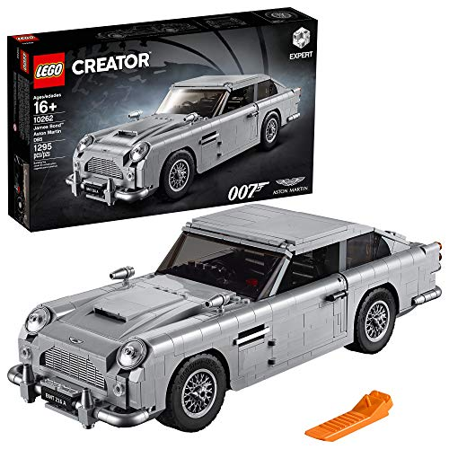 - LEGO Creator Expert James Bond Aston Martin DB5 10262 Building Kit , New 2019 (1295 Piece)